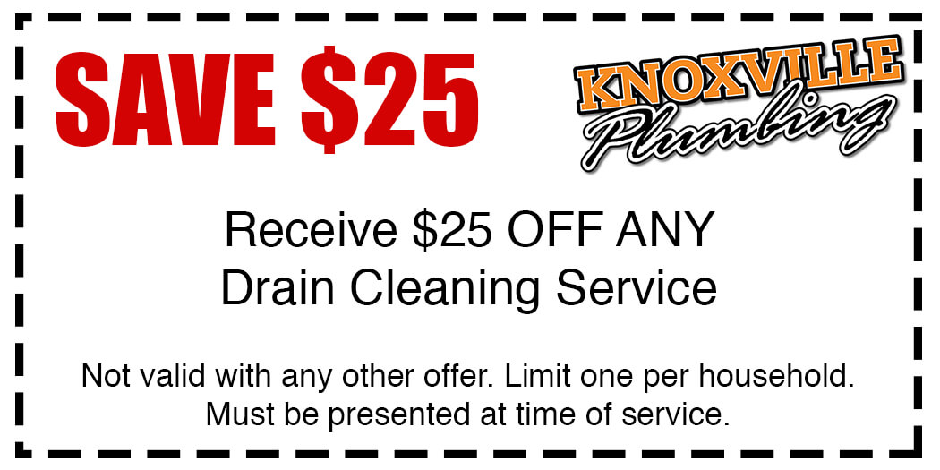 Knoxville Drain Cleaning Special Offer Coupon