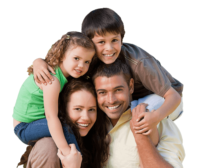 Happy family because of Knoxville Plumbing copy