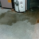 leak underneath water heater